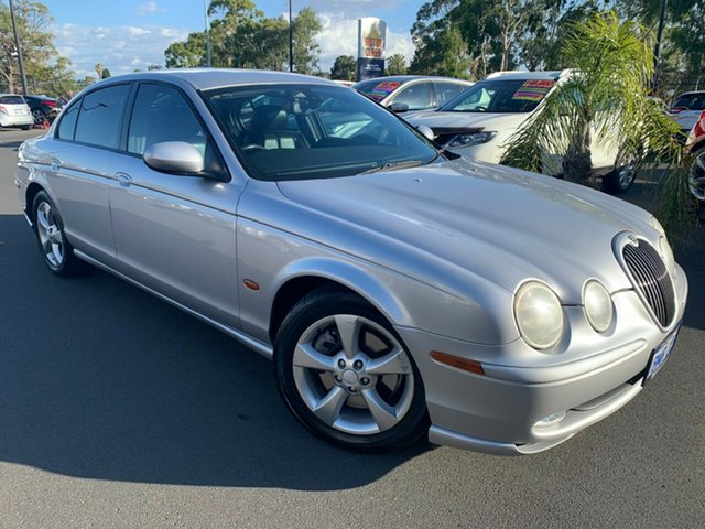 Used Jaguar S-Type X204 SE Bunbury, 2004 Jaguar S-Type X204 SE Silver 6 Speed Automatic Sedan