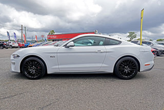 2019 Ford Mustang FN 2019MY GT White 6 Speed Manual Fastback