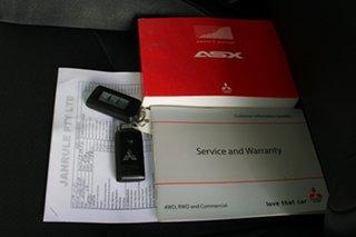 2012 Mitsubishi ASX XA MY12 Aspire White 6 Speed Manual Wagon.