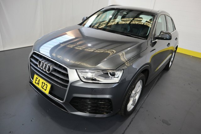 Used Audi Q3 8U MY18 TFSI S Tronic Quattro Sport Castle Hill, 2018 Audi Q3 8U MY18 TFSI S Tronic Quattro Sport Grey 7 Speed Sports Automatic Dual Clutch Wagon