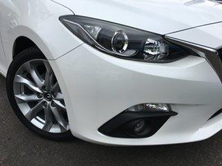 2016 Mazda 3 BM5438 SP25 SKYACTIV-Drive White 6 Speed Sports Automatic Hatchback.