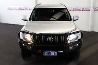 2015 Toyota Landcruiser Prado GDJ150R GXL Silver Pearl 6 Speed Manual Wagon.
