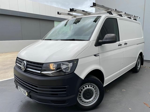 Used Volkswagen Transporter T6 MY18 TDI340 SWB DSG Liverpool, 2017 Volkswagen Transporter T6 MY18 TDI340 SWB DSG White 7 Speed Sports Automatic Dual Clutch Van