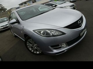 2008 Mazda 6 GH Classic Purple 5 Speed Auto Activematic Sedan.