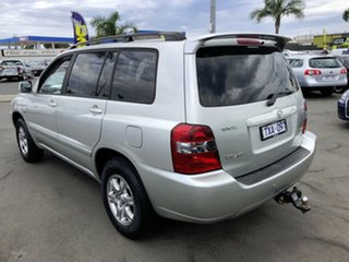 2006 Toyota Kluger MCU28R Upgrade CVX (4x4) Silver 5 Speed Automatic Wagon