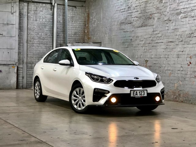 Used Kia Cerato BD MY19 S Mile End South, 2018 Kia Cerato BD MY19 S White 6 Speed Sports Automatic Sedan