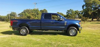 2020 Ford F350 (No Series) XLT Blue Automatic Utility.