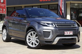 2016 Land Rover Range Rover Evoque L538 MY17 SE Dynamic Grey 9 Speed Sports Automatic Convertible.
