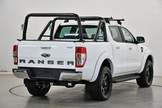 2018 Ford Ranger PX MkIII 2019.00MY XLT White 10 Speed Sports Automatic Utility