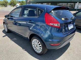 2010 Ford Fiesta WT LX Blue 6 Speed Automatic Hatchback