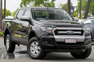2017 Ford Ranger PX MkII XLS Double Cab Black 6 Speed Sports Automatic Utility.
