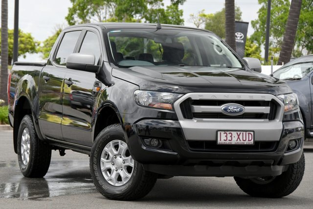 Used Ford Ranger PX MkII XLS Double Cab North Lakes, 2017 Ford Ranger PX MkII XLS Double Cab Black 6 Speed Sports Automatic Utility