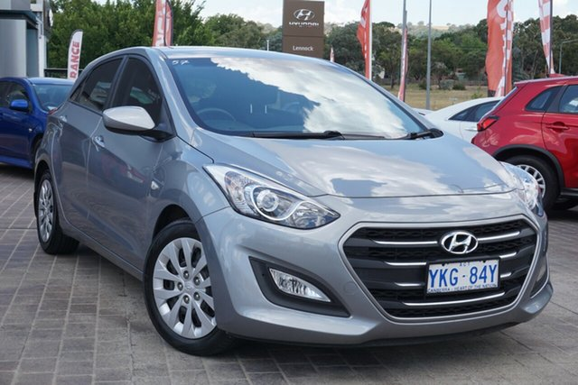 Used Hyundai i30 GD3 Series II MY16 Active Phillip, 2015 Hyundai i30 GD3 Series II MY16 Active Silver 6 Speed Sports Automatic Hatchback