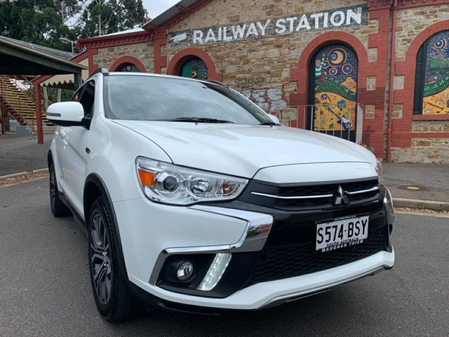 Used Mitsubishi ASX XC MY18 LS 2WD Cheltenham, 2017 Mitsubishi ASX XC MY18 LS 2WD White 1 Speed Constant Variable Wagon
