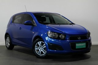 2015 Holden Barina TM MY15 CD Blue 5 Speed Manual Hatchback.