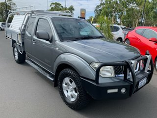 2009 Nissan Navara D40 ST-X King Cab Grey 5 Speed Automatic Cab Chassis
