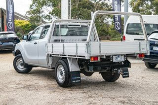 2014 Mazda BT-50 UP0YF1 XT Freestyle Highlight Silver 6 Speed Sports Automatic Cab Chassis.