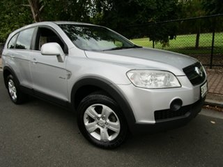 2009 Holden Captiva CG MY10 SX (FWD) Silver 5 Speed Manual Wagon