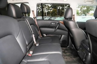 2020 Nissan Patrol Y62 Series 5 MY20 TI (4x4) Black Obsidian 7 Speed Automatic Wagon