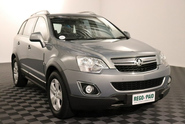 Used Holden Captiva CG Series II 5 AWD Acacia Ridge, 2011 Holden Captiva CG Series II 5 AWD Grey 6 speed Automatic Wagon