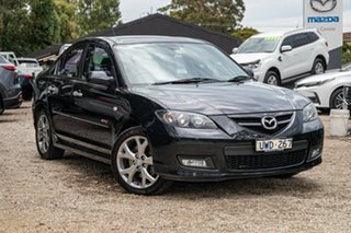 2007 Mazda 3 BK1032 SP23 Black 6 Speed Manual Sedan.
