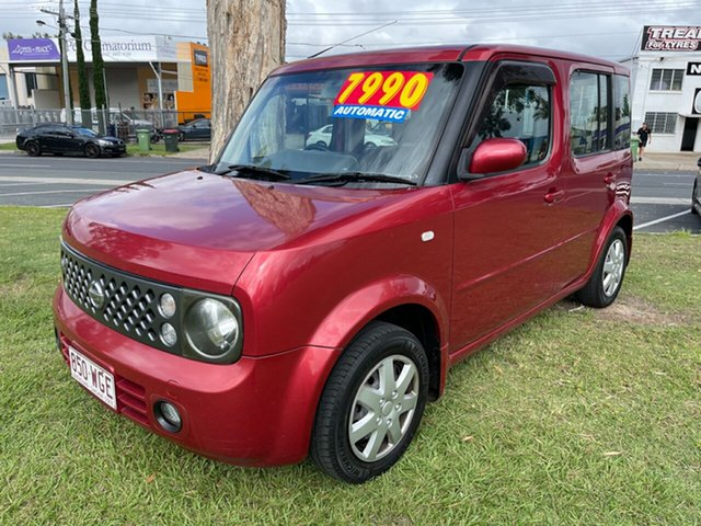 Used Nissan Cube BZ11 Clontarf, 2006 Nissan Cube BZ11 Red 4 Speed Automatic Wagon
