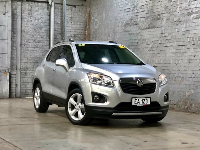 Used Holden Trax TJ MY17 LTZ Mile End South, 2016 Holden Trax TJ MY17 LTZ Silver 6 Speed Automatic Wagon