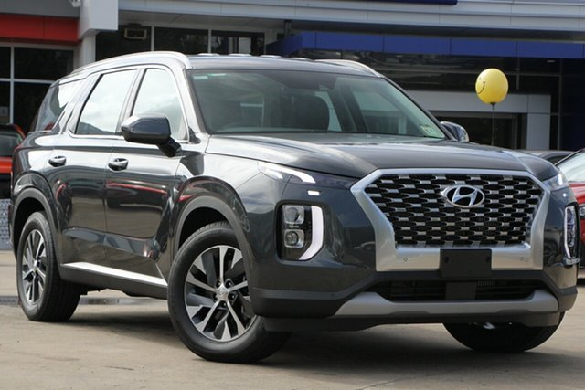 Demo Hyundai Palisade LX2.V1 MY21 AWD Beaudesert, 2020 Hyundai Palisade LX2.V1 MY21 AWD Rain Forest 8 Speed Sports Automatic Wagon
