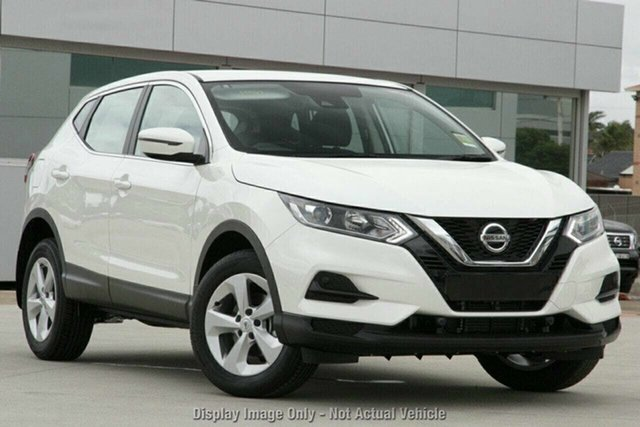 Demo Nissan Qashqai J11 Series 3 MY20 ST X-tronic Essendon Fields, 2020 Nissan Qashqai J11 Series 3 MY20 ST X-tronic Ivory Pearl 1 Speed Constant Variable Wagon