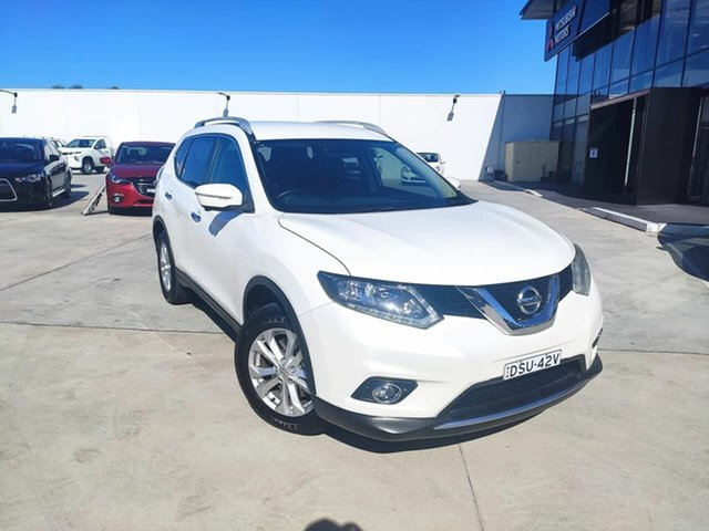 Used Nissan X-Trail T32 ST-L X-tronic 2WD Liverpool, 2014 Nissan X-Trail T32 ST-L X-tronic 2WD White 7 Speed Constant Variable Wagon