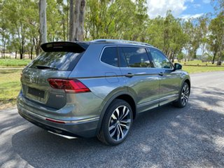 2020 Volkswagen Tiguan 5N MY21 162TSI Highline DSG 4MOTION Allspace Platinum Grey 7 Speed
