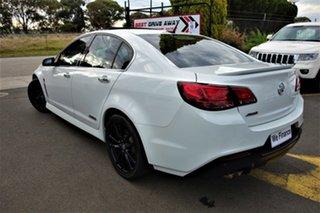 2013 Holden Commodore VF MY14 SS V Redline White 6 Speed Manual Sedan