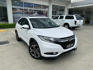 2016 Honda HR-V MY16 VTi-L White 1 Speed Constant Variable Hatchback.