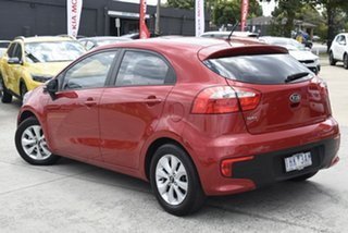 2015 Kia Rio UB MY16 S-Premium Red 4 Speed Sports Automatic Hatchback