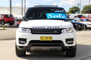 2016 Land Rover Range Rover Sport L494 16MY SE White 8 Speed Sports Automatic Wagon