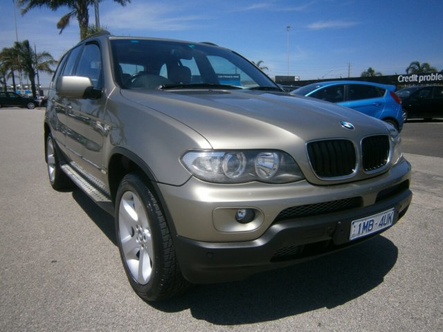 Used BMW X5 E53 MY06 d Steptronic Cheltenham, 2006 BMW X5 E53 MY06 d Steptronic Gold 6 Speed Sports Automatic Wagon