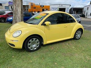 2006 Volkswagen Beetle 9C MY2006 TDI Coupe Yellow 5 Speed Manual Liftback.