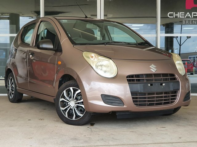 Used Suzuki Alto GF GL Brendale, 2010 Suzuki Alto GF GL Bronze 5 Speed Manual Hatchback