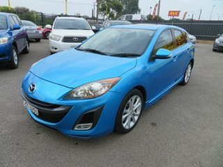 2009 Mazda 3 BL SP25 Blue 5 Speed Automatic Hatchback.