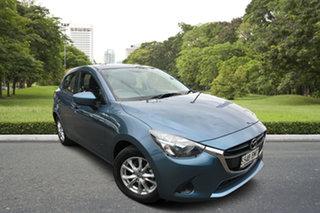 2016 Mazda 2 DJ2HA6 Maxx SKYACTIV-MT Blue 6 Speed Manual Hatchback.