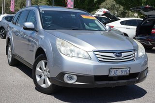 2012 Subaru Outback B5A MY12 2.5i Lineartronic AWD Silver 6 Speed Constant Variable Wagon.