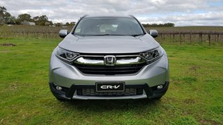 2020 Honda CR-V RW MY21 VTi FWD Lunar Silver 1 Speed Automatic Wagon.
