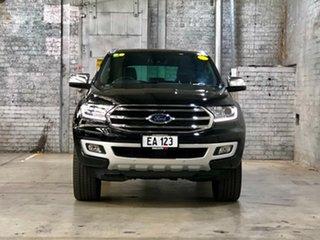 2019 Ford Everest UA II 2019.00MY Titanium Black 10 Speed Sports Automatic SUV.