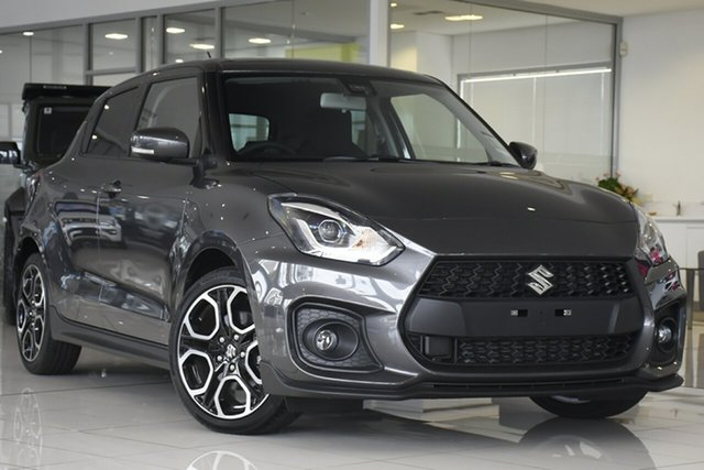 New Suzuki Swift AZ Series II Sport Springwood, 2020 Suzuki Swift AZ Series II Sport Grey 6 Speed Sports Automatic Hatchback