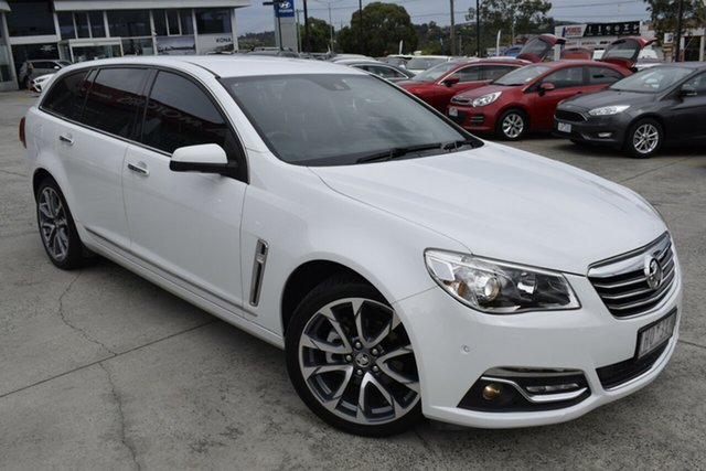 Used Holden Calais VF II MY16 V Sportwagon Ferntree Gully, 2016 Holden Calais VF II MY16 V Sportwagon White 6 Speed Sports Automatic Wagon
