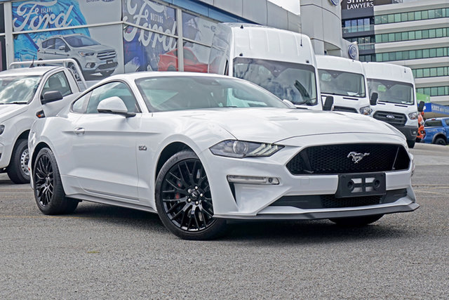 Used Ford Mustang FN 2019MY GT Springwood, 2019 Ford Mustang FN 2019MY GT White 6 Speed Manual Fastback