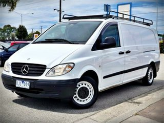 2006 Mercedes-Benz Vito 639 109CDI White Manual Van
