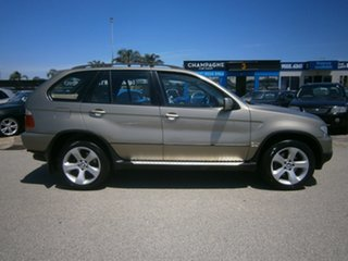 2006 BMW X5 E53 MY06 d Steptronic Gold 6 Speed Sports Automatic Wagon