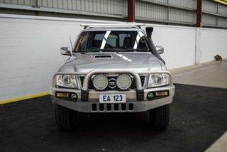 2013 Nissan Patrol Y61 GU 9 ST Silver 4 Speed Automatic Wagon.