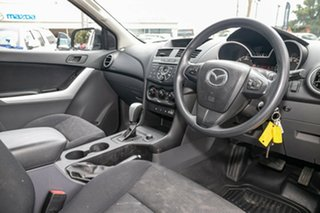 2014 Mazda BT-50 UP0YF1 XT Freestyle Highlight Silver 6 Speed Sports Automatic Cab Chassis